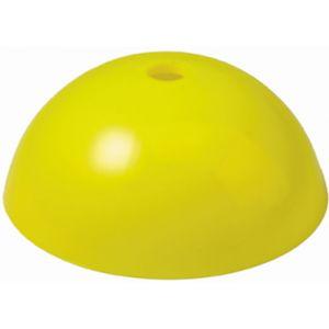 Afbakenbollen Hard Plastic Geel 10 st.