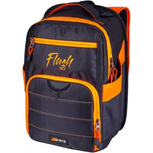 Grays Flash 50 Backpack Zwart/Oranje