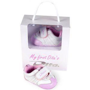 Dita Babyschoen 'My First Dita' Roze